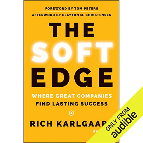 The Soft Edge audiobook cover art