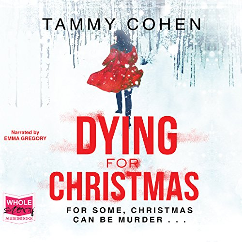Dying for Christmas audiobook cover art