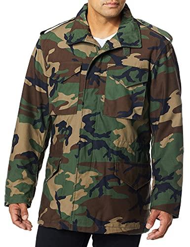Propper Men's M65 Field Coat, Woodland, Large Regular