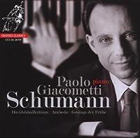 Schumann: Davidsbundlertanze, Arabeske, Gesange der Fruhe by Schumann (2009-04-14)