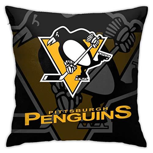 ViviHomeD Pittsburgh Shadow Square Pillowcase