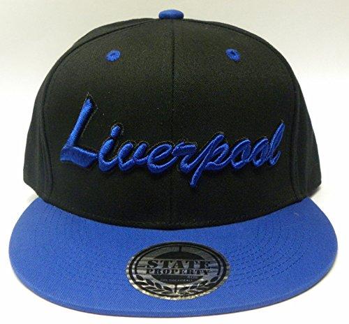State Property/KB-ethos/Xers-Snapback Casquette de baseball unisexe avec noms de ville Londres Manchester Liverpool Chelsea Essex Grand logo à l'avant