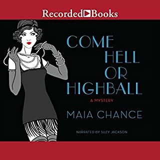 Come Hell or Highball audiobook cover art