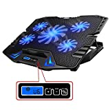 TopMate C5 12-15.6 inch Gaming Laptop Cooler Cooling Pad, 5 Quiet Fans...