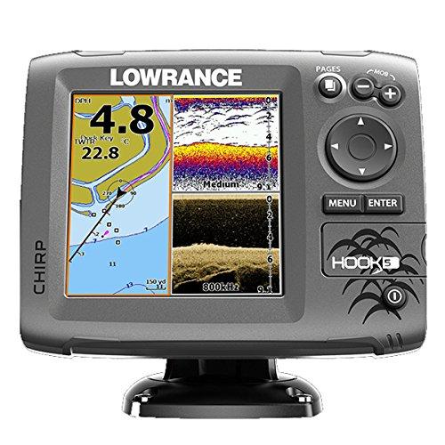 Lowrance Fischfinder/kartenplotter Hook 5 ohne Transducer, 000-12655-001