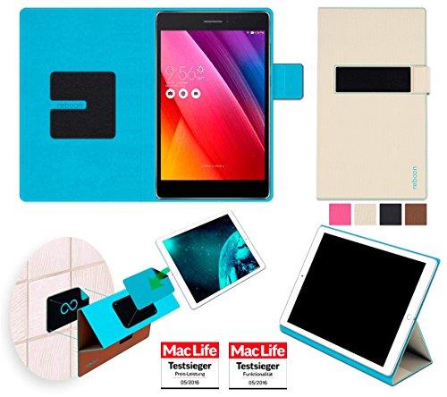 reboon Hülle für Asus ZenPad S 8.0 (Z580C) Tasche Cover Case Bumper | in Beige | Testsieger