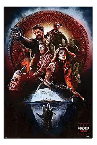Call of Duty Black Ops 4 Zombies Poster Maxi - 91.5 x 61cms (36 x 24 Inches)