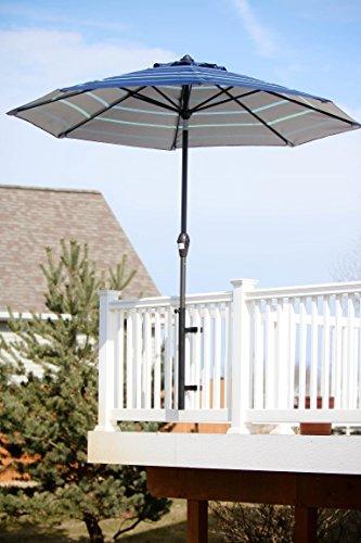 Patio Umbrella Holder | Outdoor Umbrella Base and Mount | Attaches to...