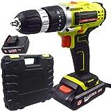 EastMetal Taladro Sin Cable, Atornillador Bateria Portátil con...