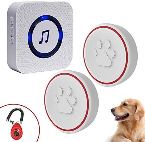 ChunHee Dog Bell for Potty Training Wireless Doggie Door Bell for Dog Puppy Training Sliding product image