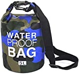 CoolStory 2019 Outdoor Portable Rafting Diving Dry Bag Sack Waterproof Folding Swimming Storage Bag for River Trekking,4,2L