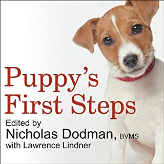 Puppy's First Steps audiobook cover art