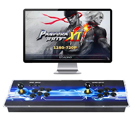 TAPDRA 3D Pandora Box 11 con 3003 Classic Arcade Game Machine 2 Jugadores 1280X720 Full HD Video Game Console, admite hasta 4 Jugadores