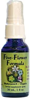 Flower Essence Services Five-Flower Formula, 0.25 Ounce