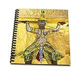 3dRose db_75447_2 Temple Statue, Bangkok, Thailand AS36 IST0007 Inti St. Clair Memory Book, 12 by 12'