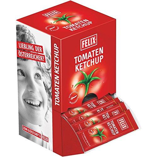 Felix Ketchup Mild 100 Portionsbeutel à 20g, 1er Pack (1)