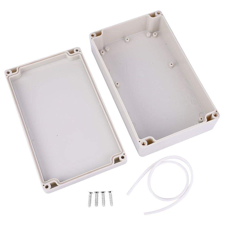 非効率的な言語クライアントジャンクションボックス、Absプラスチック防水Ip65電気プロジェクトエンクロージャー電気ボックス防水ジャンクションボックス屋外ジャンクションボックスEcurity電源ケース200 X 120 X 55 mm