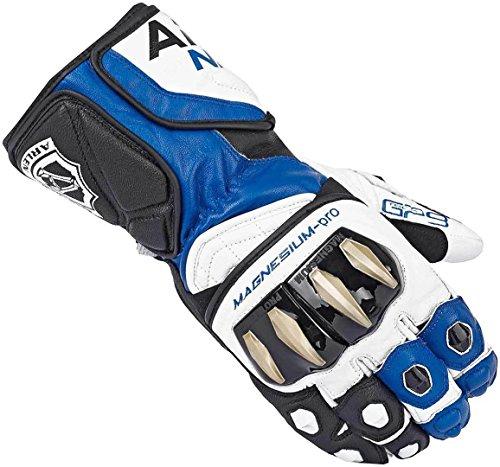 Arlen Ness Sugello Handschuhe 3XL Schwarz/Weiß/Blau