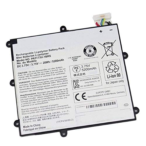 |_Recom'mend_| .75V 20Wh PA5173U-1BRS Laptop Battery Compatible with Toshiba Encore 8' WT8-A 102 VT484 PA5173U-1BRS 1ICP4/56/89/2 Tablet