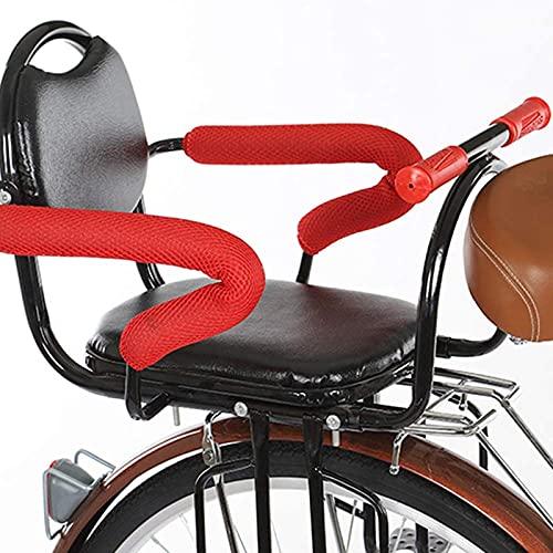 WUTONG Carrier de Seguridad para Bicicletas Asientos para niños para niños Asiento de bebé Big Big Space con cinturón portabicicletas