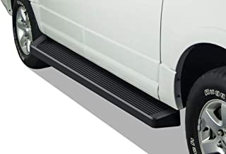 APS iBoard Black Running Boards Style Custom Fit 1997-2017 Ford Expedition Sport Utility 4-Door (Exclude EL Model) (Not Fit Funkmaster Flex Edition) (Nerf Bars Side Steps Side Bars)