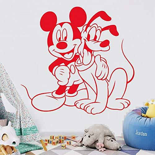 Tianpengyuanshuai muursticker, vinyl, ratten- en cartoon-cartoon, voor thuis, meisjes, jongens, kinderkamer