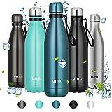 Amazon Brand - Umi Borraccia Termica, 750ml Bottiglia Acqua in Acciaio Inox, Senza BPA, 24 Ore...