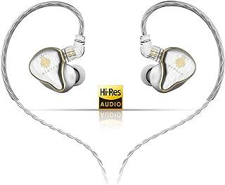 HIDIZS MS4 Hi-Fi Earphones Hi-Res Earbuds Detachable Cable Design Four Driver Hybrid(1 Dynamic + 3 Knowles BA) in-Ear Moni...