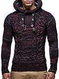 Leif Nelson, maglione da uomo, Rosso , Small