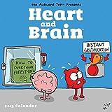 Heart and Brain 2019 Square Wall Calendar