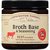 Orrington Farms Beef Flavored Broth Base & Seasoning, 12 Ounce