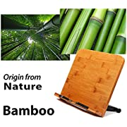 BestBooKStand High quaility Bamboo Book Stand