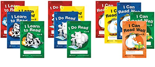 Basic Phonics Readers - Abeka 5 Year Old Kindergarten Phonics Reading Program Student Reading Book