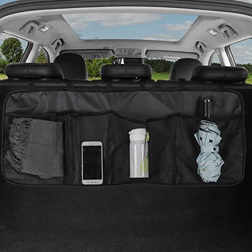 Yumech Organizador para botas de coche para colgar en el asiento trasero del coche, de tela Oxford, impermeable, para guardar el maletero