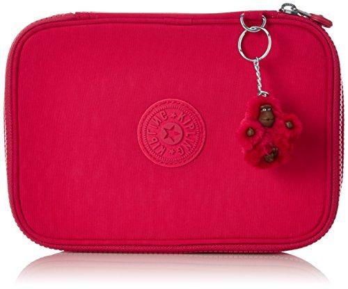 Kipling 100 Pens Estuche Grande, Rosa (True Pink)
