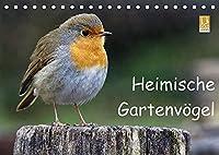 """Heimische Gartenvoegel (Tischkalender 2022 DIN A5 quer): Wunderschoene Aufnahmen, die die Pracht, Vielfalt und Einzigartigkeit unserer """"gefiederten Nachbarn"""" in unsere Wohnraeume bringen - eine Freude fuer jeden Vogelliebhaber. (Monatskalender, 14 Seiten )"""