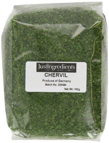 JustIngredients Essential Hojas de Perifollo - 5 Paquetes de 100 gr - Total: 500 gr