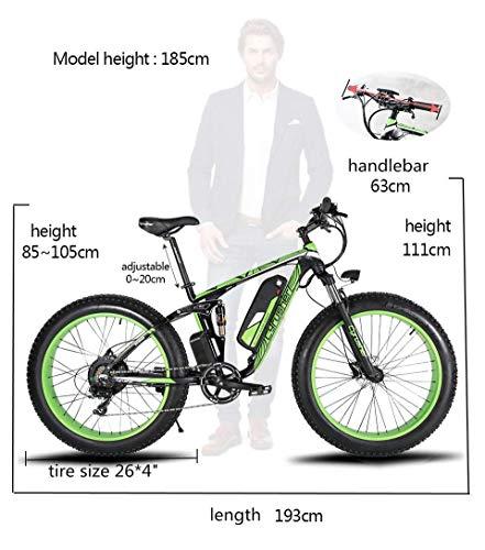 E-Bike Mountainbike 1000W Extrbici XF800 Fatbike Bild 2*