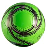 Western Star Official Match Game Soccer Ball Size 5︱Official Size and Weight Indoor and Outdoor Training Ball (Dart Green)