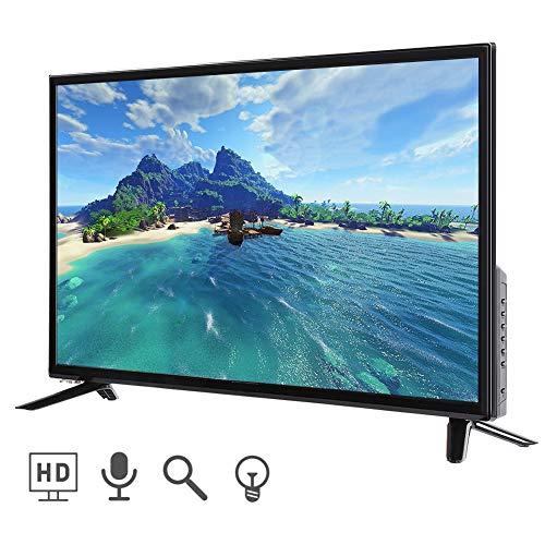 Mavis Laven Ultra HD Smart TV LCD de 43 Pulgadas Televisor para el hogar Pantalla Plana LCD Smart TV Edición de TV en Negro(UE)