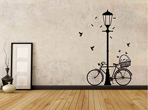 pegatinas de pared mariposas pegatinas de pared disney Farola de bicicleta para salón o dormitorio.