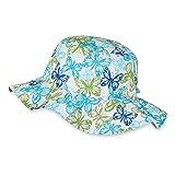 Sterntaler Hut für Mädchen mit weiter Krempe und Schmetterling-Motiv