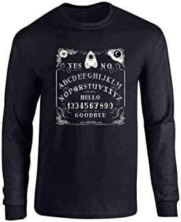 Ouija Board Seance Spirit Board Design Costume Full Long Sleeve Tee T-Shirt