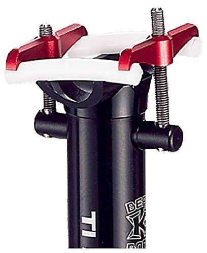 KCNC Perno para sillín TI Pro Lite 58 mm, color negro