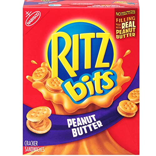 RITZ Bits Peanut Butter Sandwich Crackers, 8.8 oz