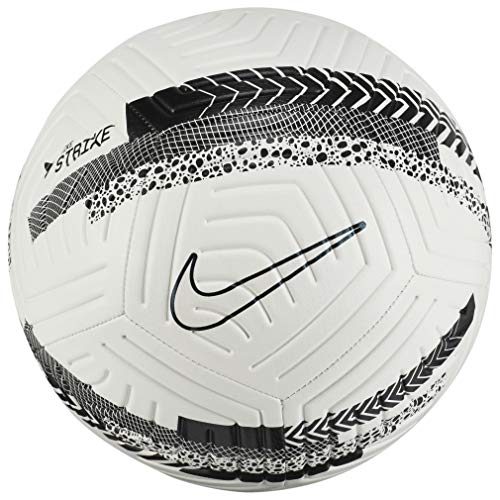 Nike Unisex– Erwachsene Cr7 Strk-Ho20 Fußball, White/Black/Iridescent, 5