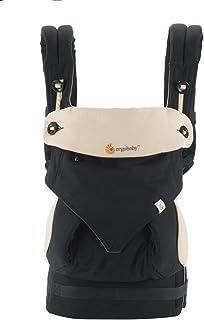 (跨境自营)(包税) ERGObaby 四式360婴儿背带-黑色/驼色BC360BLKCAM1NL(进口)