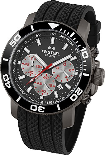 TW Steel cronografo Quarzo Orologio da Polso TW705_NEGRO