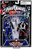 Power Rangers SPD Space Patrol Delta 2-Pack Blue Light Ranger and Commander Doggy Cruger MOC NEW