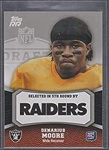 2011 Topps RR Denarius Moore Raiders Rookie Football Card #187